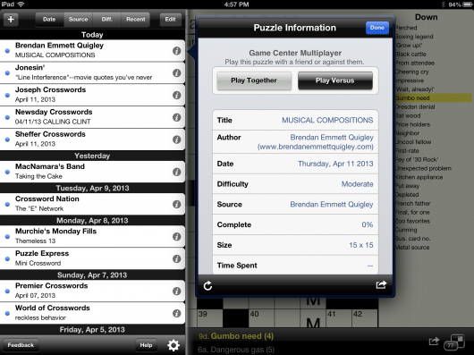 2. Info Play Buttons iPad