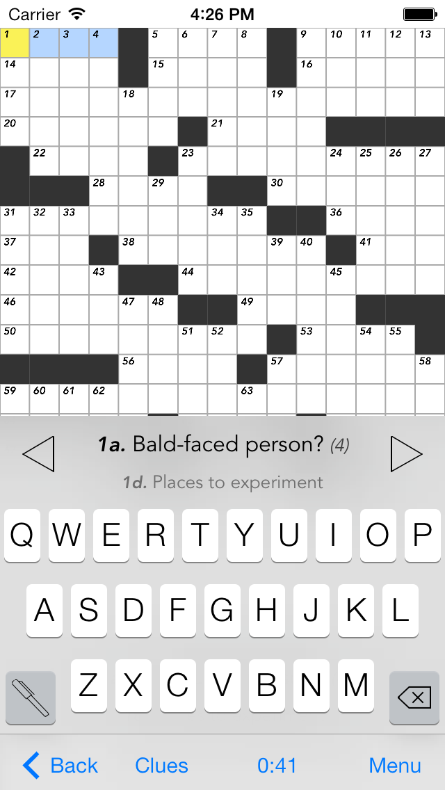 Crosswords for iOS 7 iPhone Screenshots  sc 1 st  Stand Alone Inc. & The Handheld Mac » Crosswords 25forcollege.com